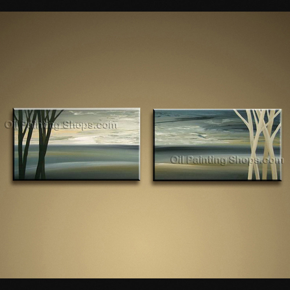 Hand-painted Beautiful Modern Abstract Painting Wall Art Artwork Images