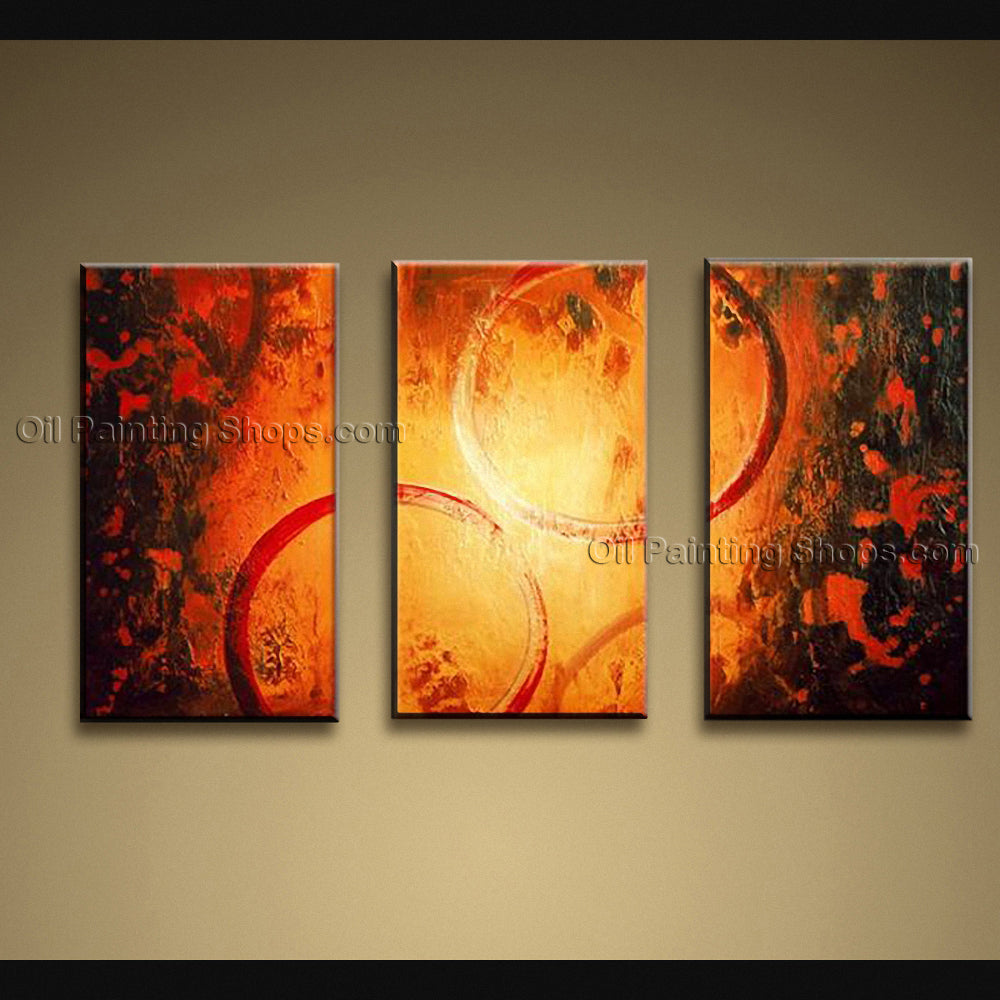 Hand-painted Stunning Modern Abstract Painting Wall Art Gallery Wrapped