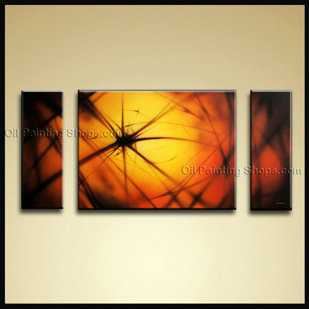 Hand-painted Beautiful Modern Abstract Painting Wall Art Ready To Hang