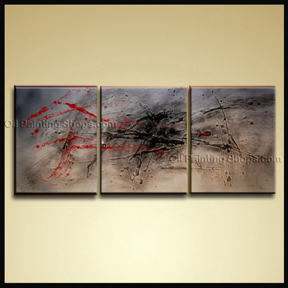 Handmade Artcrafts Stunning Modern Abstract Painting Wall Art Inner Framed