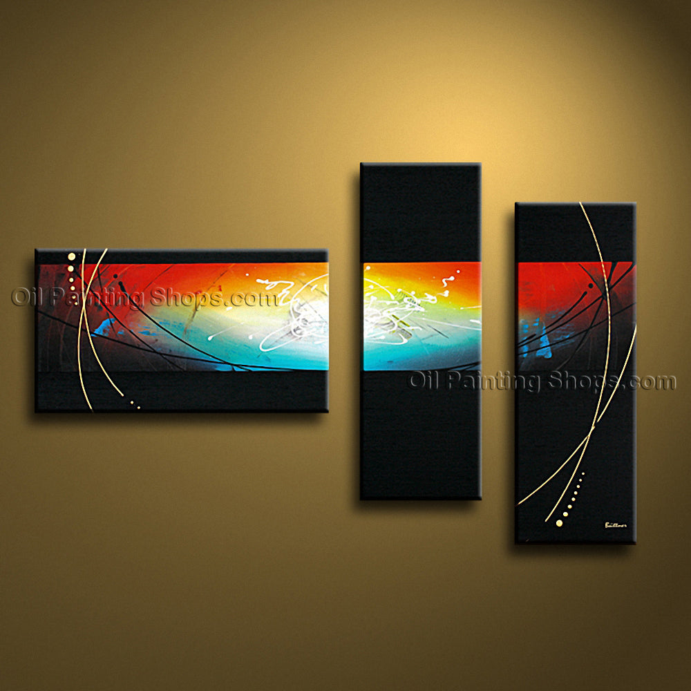 Hand-painted Beautiful Modern Abstract Painting Wall Art Contemporary