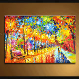 Elegant Contemporary Wall Art Landscape Painting Park Artist Artworks