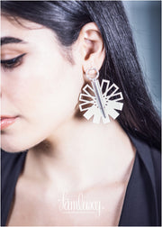 Handmade Earring With Leather