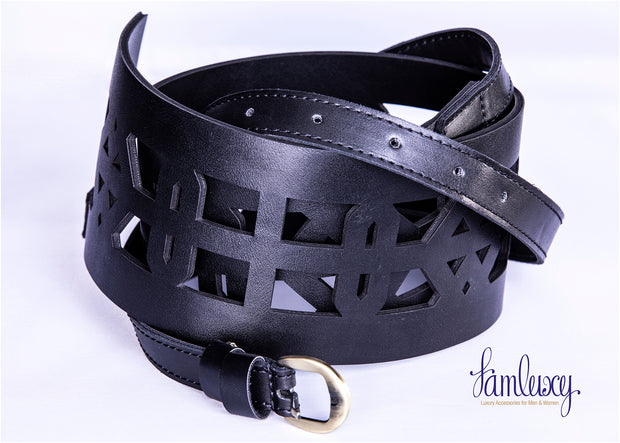Leather handmade belt