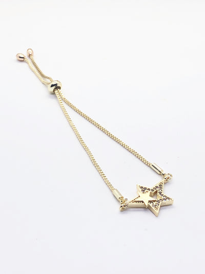 Gold Star Fitted Bracelets