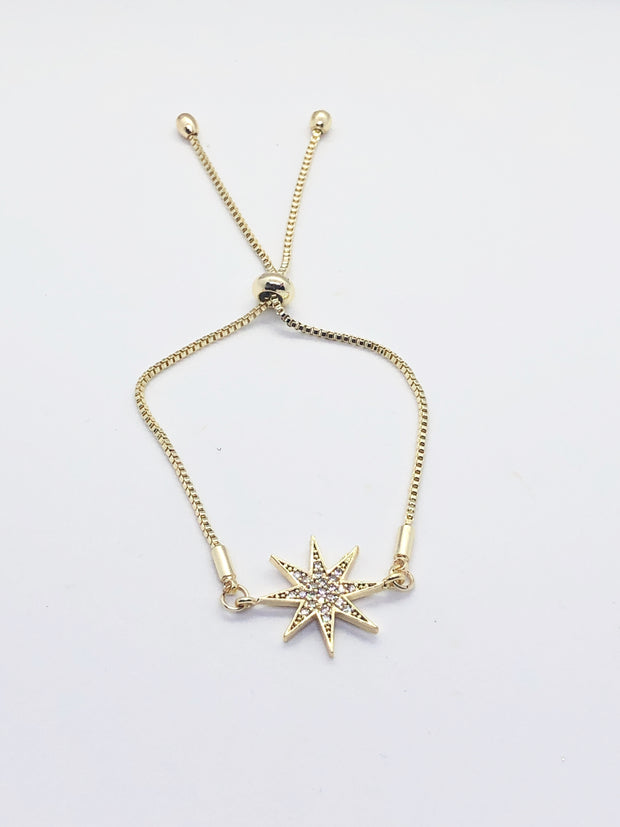 Gold Bright Star Bracelet