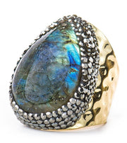 Intuition Stone adjustable Ring