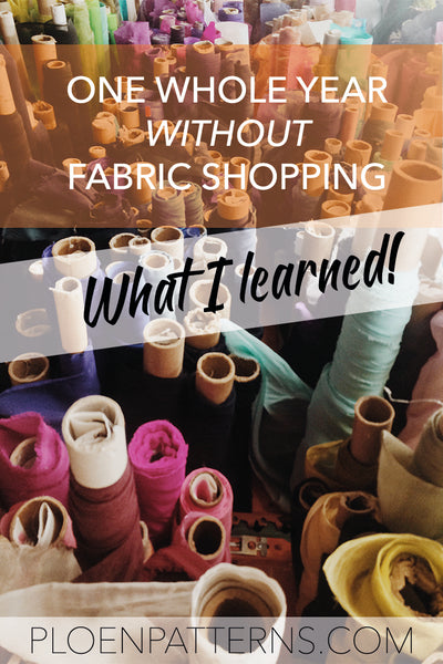 What one year without buying fabric taught me