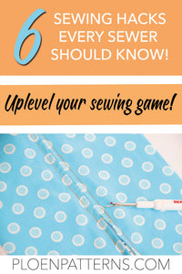My 6 favourite sewing hacks
