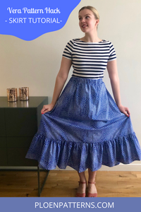 Vera pattern hack - make a skirt!