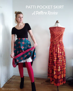 Pattern review: the Patti Pocket Skirt by Amy Nicole Studio