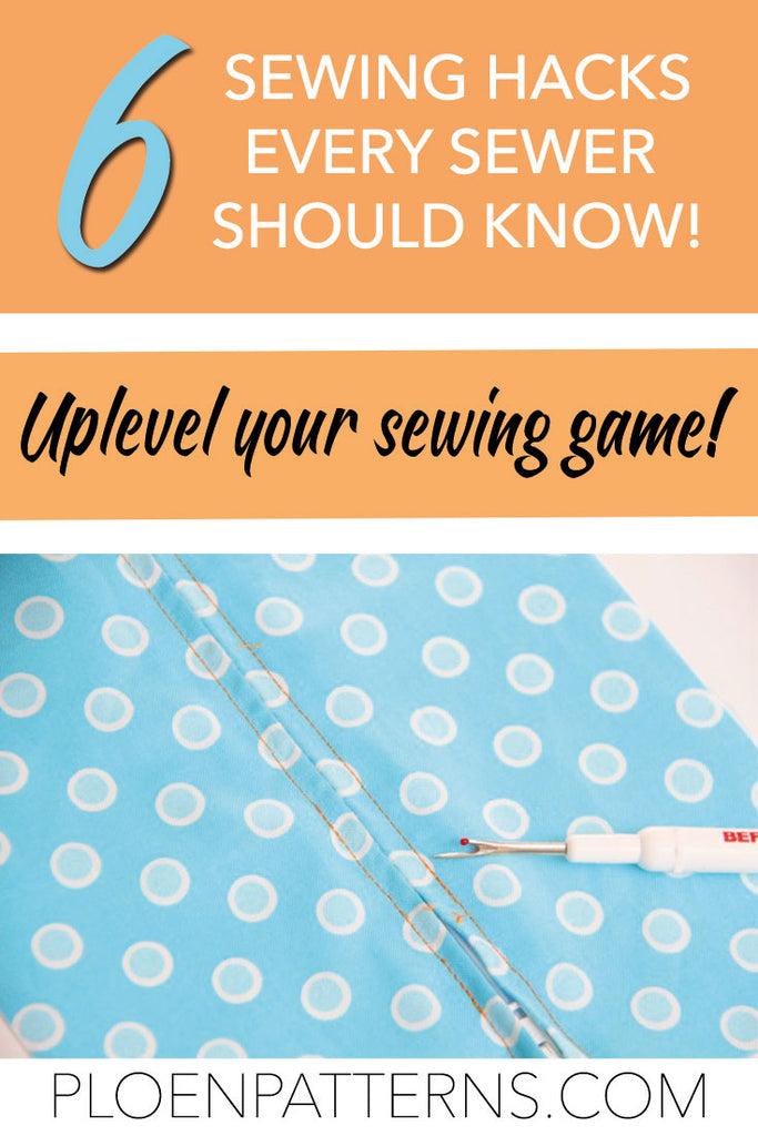 6 Sewing hacks
