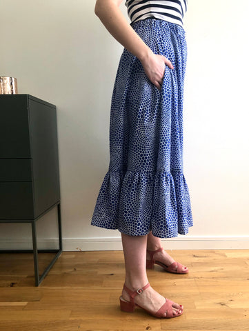 vera skirt hack with pockets