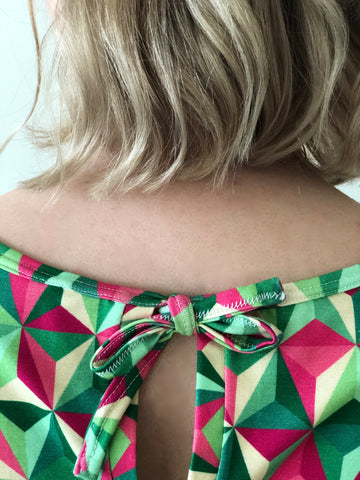 bow detail at the back