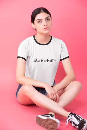 Walk x Faith Ringer Tee