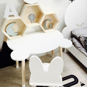 Table Teddy - Blanc