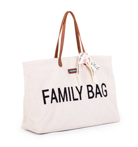 Set FAMILY BAG - Teddy Blanc (par lot de 2 ou 3 sacs)