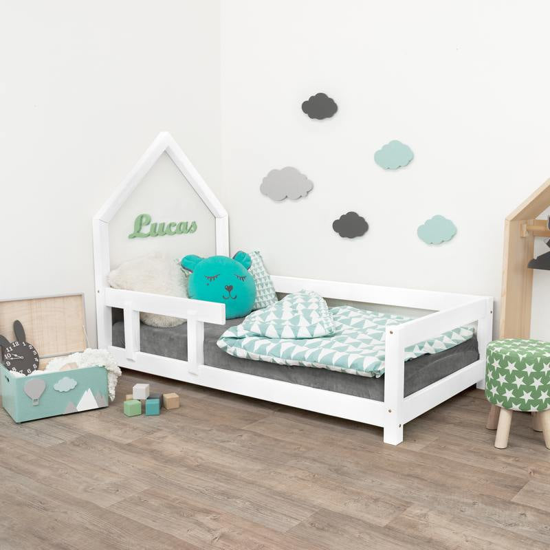 Lit simple cabane POPPI - Blanc