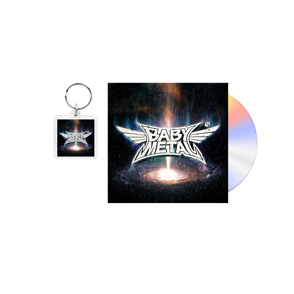METAL GALAXY KEYCHAIN + MEDIA - BABYMETAL UK STORE