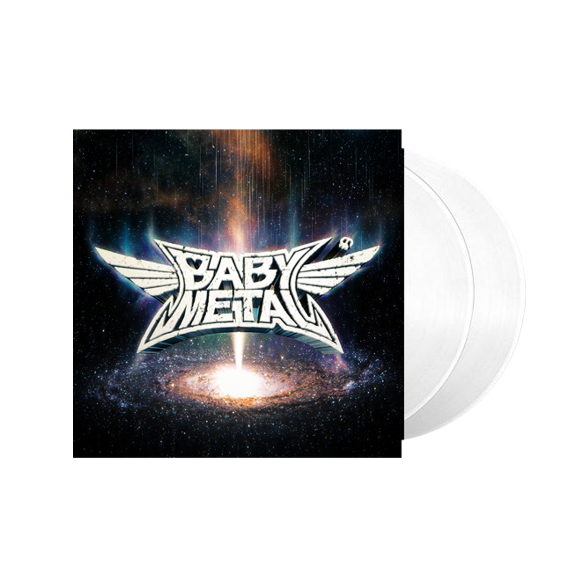 METAL GALAXY TRANSPARENT VINYL - BABYMETAL UK STORE