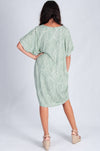 LEAF SAND BAR DRESS - VBLD116