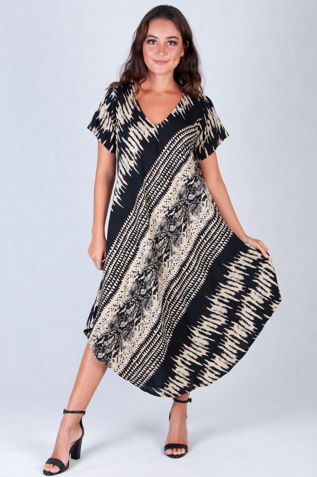 GREAT HARBOUR DRESS PRINTS- VBLD083