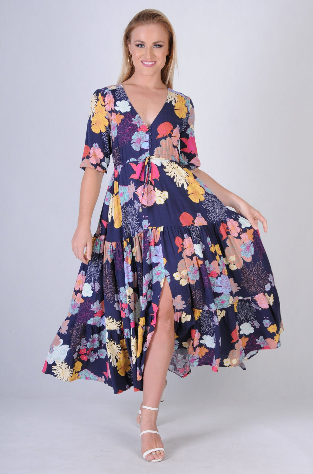 VJHD234 - LULU DRESS - PICASSO PETAL