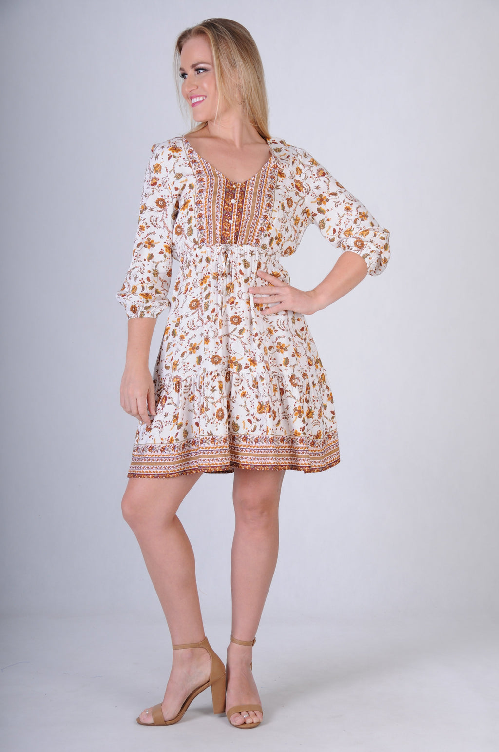 VJHD231 - WALNUT DRESS - ARIZONA WHITE