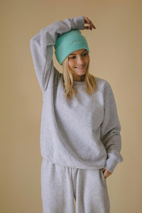"Felpa ""Cozy"" grey unisex"