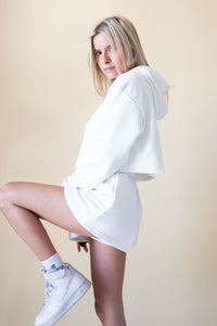 "Shorts ""Cozy"" Marshmallow white"