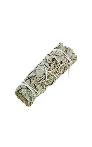 BLUE & WHITE SAGE SMUDGE STICK