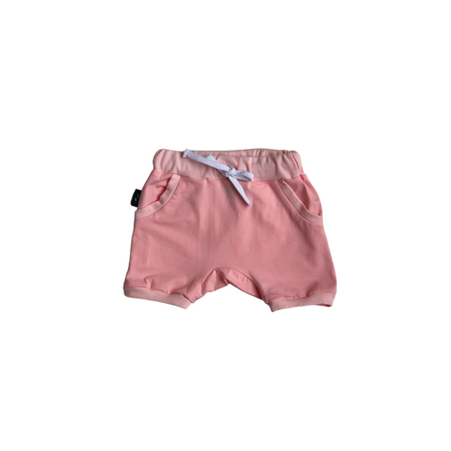 Harem Shorts - Baby Pink - Bolts & Blooms