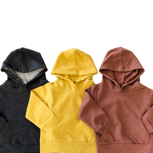 Pullover Hoodie - Rosy Brown - Bolts & Blooms