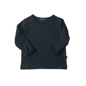 Basic Long Sleeve Tee - Black - Bolts & Blooms