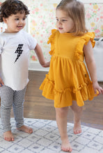 Load image into Gallery viewer, Yellow Sunshine Ruffle Tunic/Dress - Bolts & Blooms