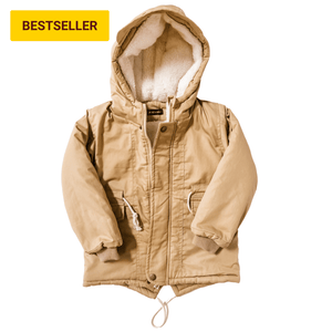 Sherpa-Lined Utility Jacket for Toddler - Bolts & Blooms