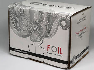 Quality Touch Rolled Highlighting Foil 800 FT Silver - Salon Store