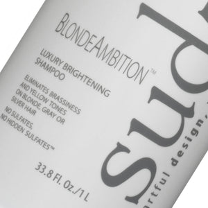 Sudzz Blonde Ambition Luxury Brightening Shampoo Liter - Salon Store