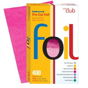 Product Club Embossed Pre-Cut Foil 400 Ct