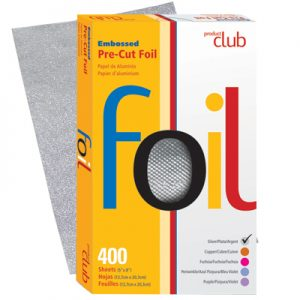 Product Club Embossed Pre-Cut Foil 400 Ct - Salon Store