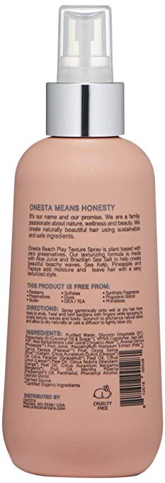 Onesta Beach Play Texture Spray 8oz - Salon Store