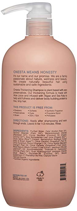 Onesta Thickening Conditioner Liter - Salon Store