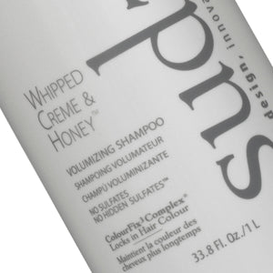 Sudzz Whipped Crème & Honey Volumizing Shampoo Liter - Salon Store