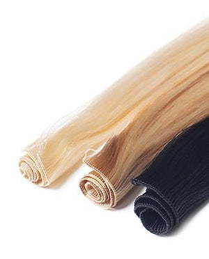 "Hand Tied Hair Wefts 22.5"" Synthetic Practice Hair - Salon Store"