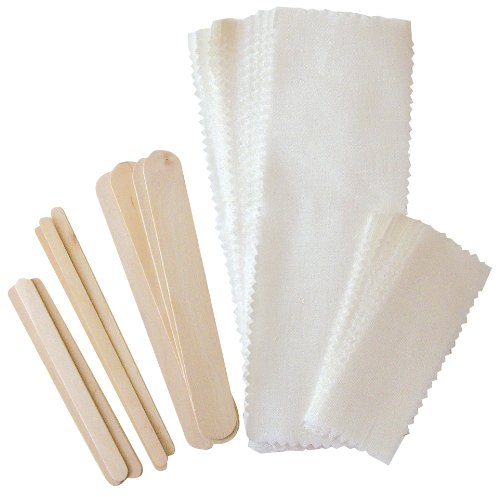 FantaSea Muslin 40 Piece Waxing Kit - Salon Store