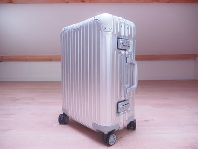RIMOWA ORIGINAL Cabin Multiwheel ALUMINUM 92553004 NEW Made in GERMANY