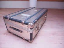Load image into Gallery viewer, Rimowa Authentic Vintage Aluminum, Wood and Leather Trunk RARE 70er