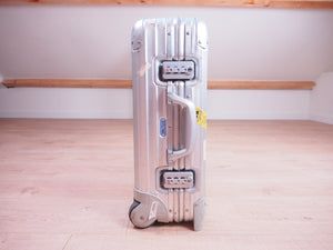 Rimowa TOPAS ORIGINAL CABIN MULTIWHEEL Two Wheel 32L Pre-Owned Made in Germany
