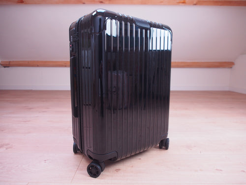 RIMOWA ESSENTIAL Cabin GLOSS BLACK NEW 2020 Made in EUROPE