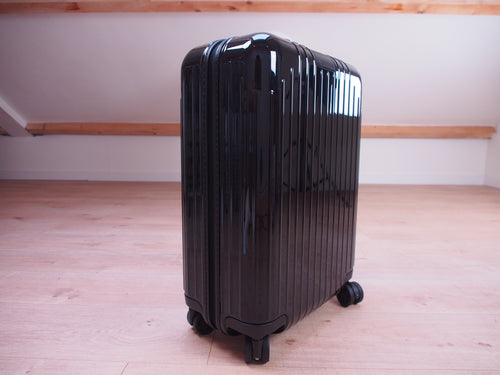 RIMOWA ESSENTIAL LITE Cabin GLOSS BLACK NEW Made in EUROPE